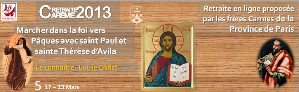 Le connaître, Lui, le Christ