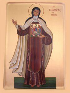 Icône Elisabeth de la Trinité