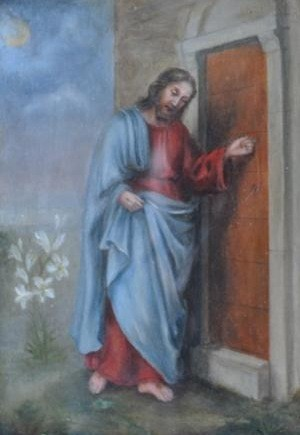 Jésus frappe a la porte