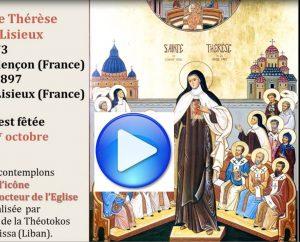 Icône Thérèse docteur