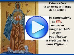 Icône Notre Dame du Mont Carmel