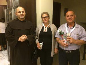 01. Fr. Ghadir et deux laïcs du Carmel