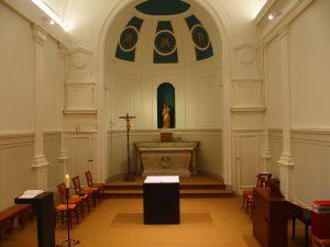 Chapelle de Lille vue à hauteur d'homme