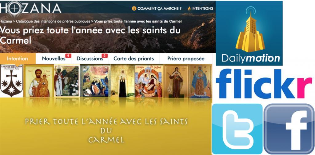 réseaux sociaux carmes paris