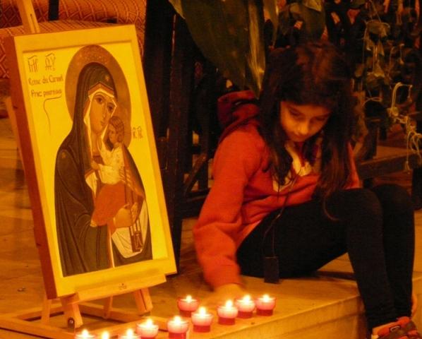 7. Avoir Notre-Dame et Notre-Mère chez soi...